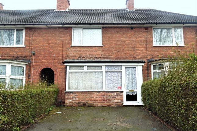 Thumbnail Terraced house to rent in Barnet Road, Erdington