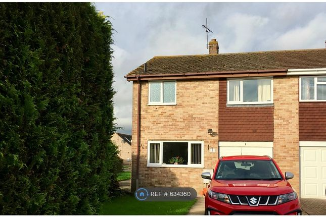 Thumbnail Semi-detached house to rent in Argosy Close, Chalgrove, Oxford