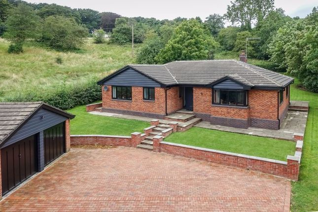 Thumbnail Detached bungalow for sale in Stoney Lane, Endon, Staffordshire