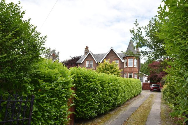 Thumbnail Flat for sale in 17 Victoria Terrace, Crieff
