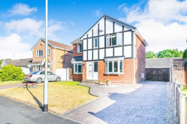 Thumbnail Detached house for sale in Ladywood Road, Old Hall, Warrington, Cheshire