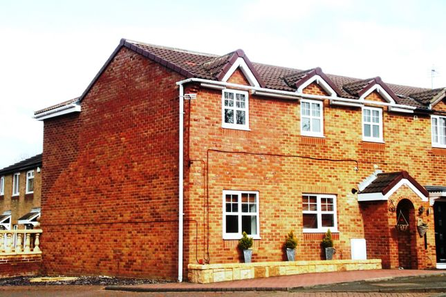 Thumbnail Semi-detached house for sale in Brougham Court, Peterlee