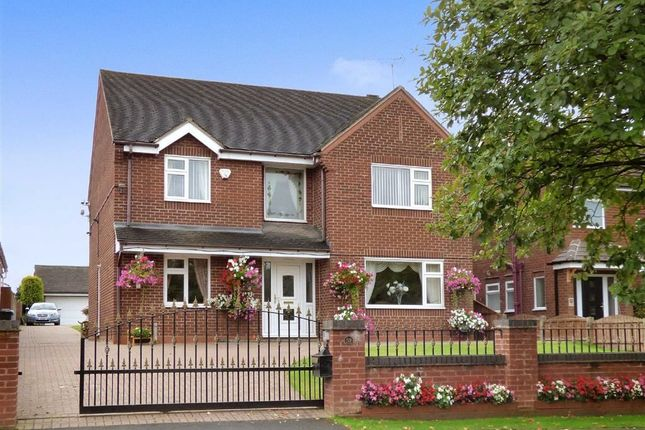 Thumbnail Detached house for sale in Wood Lane, Cannock, Staffordshire