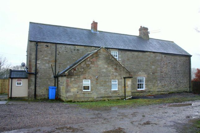 Thumbnail Farmhouse to rent in Mitford, Morpeth