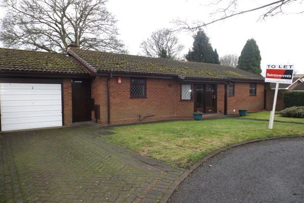 Thumbnail Bungalow to rent in Papplewick, Nottingham