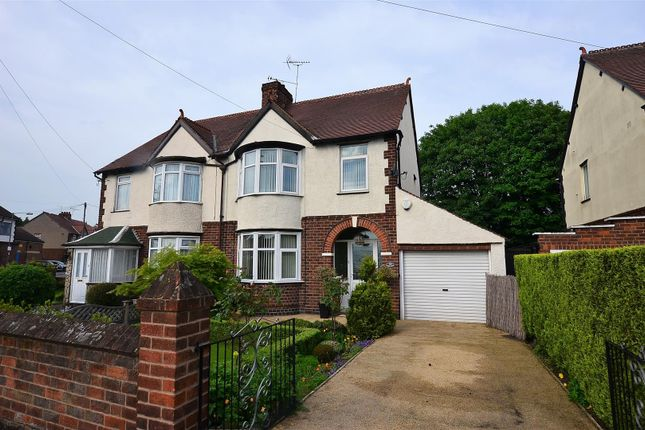 Thumbnail Semi-detached house for sale in Shardlow Road, Alvaston, Derby