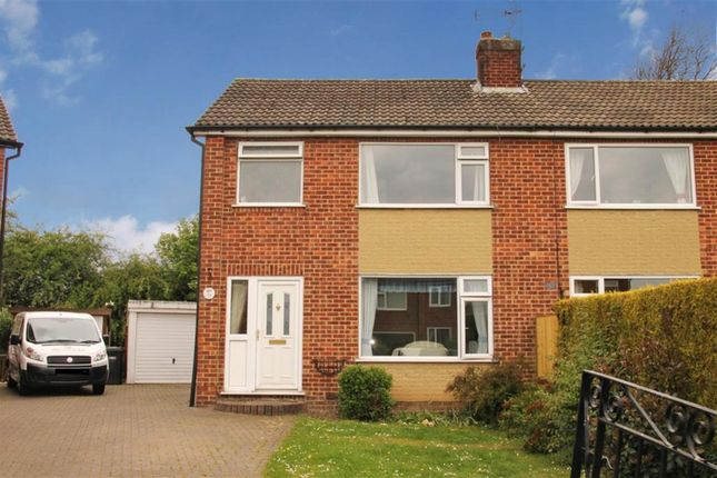 Thumbnail Semi-detached house for sale in Wentworth Drive, Harrogate