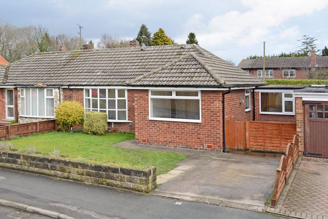 Thumbnail Semi-detached bungalow for sale in Heath Moor Drive, York
