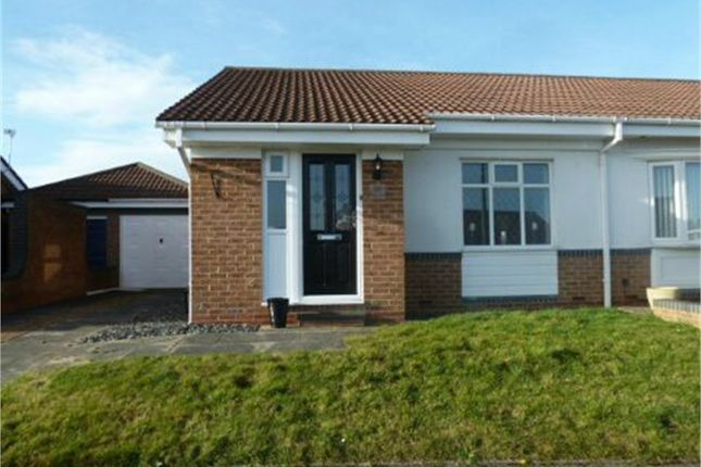 Thumbnail Semi-detached bungalow for sale in Ingram Close, Chester Le Street, Durham
