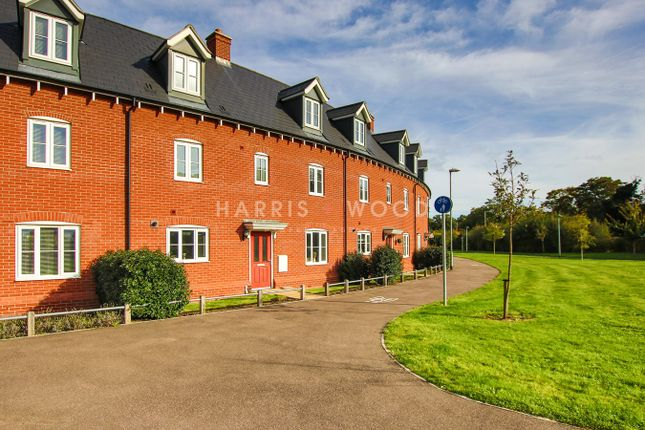 Thumbnail Town house for sale in Fowler Road, Colchester