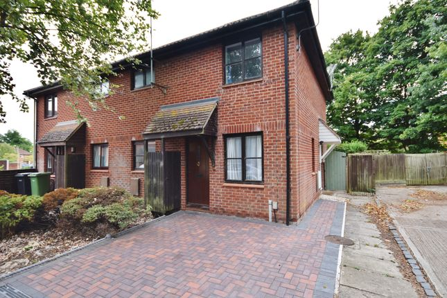 Thumbnail End terrace house for sale in Worcester Drive, Didcot
