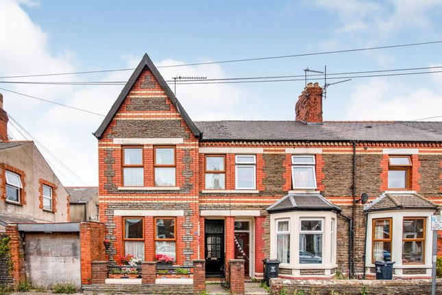 Thumbnail End terrace house for sale in Essich Street, Roath, Cardiff