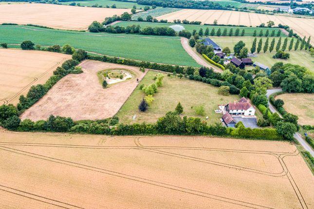 Aerial Image of Marks Hall Lane, White Roding, Dunmow, Essex CM6
