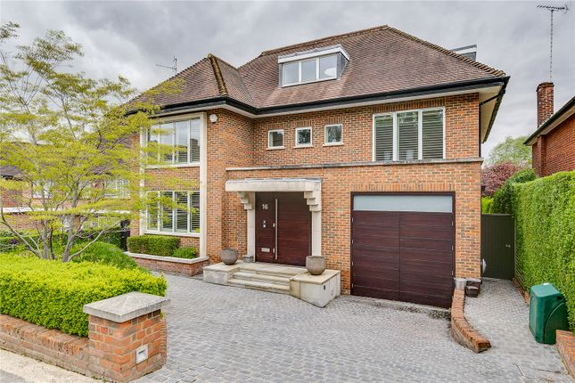 Thumbnail Detached house to rent in Church Mount, Hampstead Garden Suburb, London