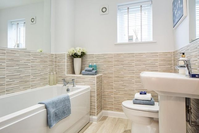 "Bathroom of ""Woodcote"" at Dryleaze, Yate, Bristol BS37"