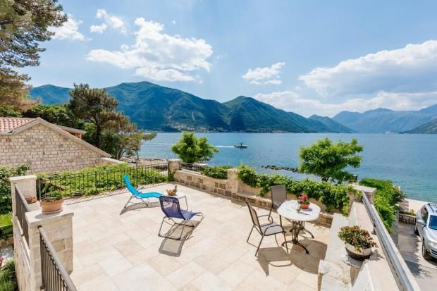 Thumbnail Property for sale in Luxury Villa On The First Line, Dobrota, Kotor, Montenegro