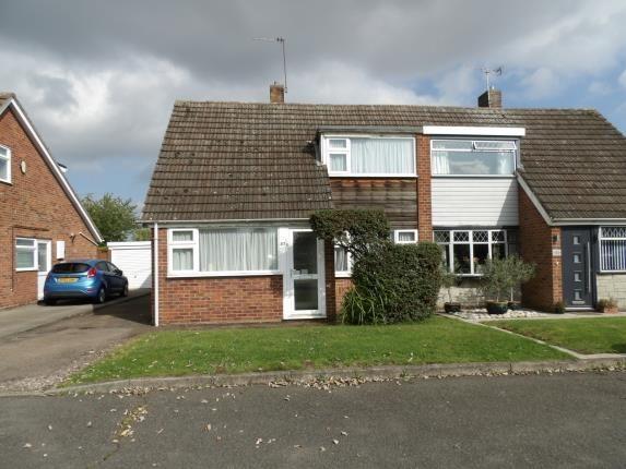 Thumbnail Semi-detached house for sale in Parklands Avenue, Leamington Spa, Warwickshire, England