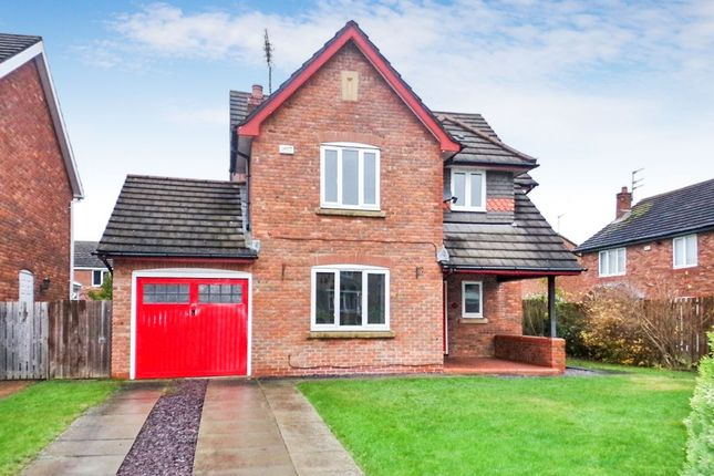 Thumbnail Detached house for sale in Warwick Grove, Bedlington