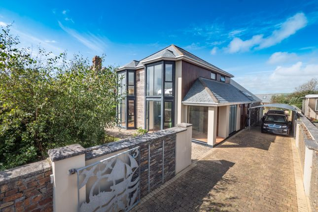 Thumbnail Detached house for sale in Ocean View Road, Bude
