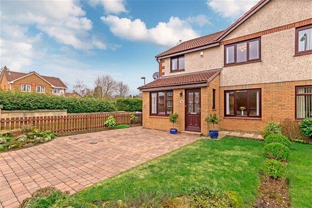 Thumbnail Semi-detached house for sale in Bridgend Park, Bathgate, Bathgate