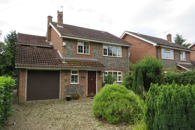 Thumbnail Detached house for sale in The Street, Billingford, Dereham