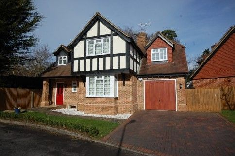 Thumbnail Detached house for sale in Canterbury Gardens, Farnborough, Hampshire