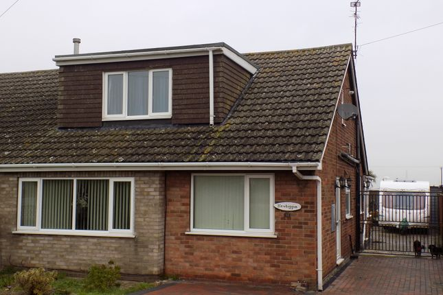 Thumbnail Semi-detached house for sale in Station Road, Ulceby