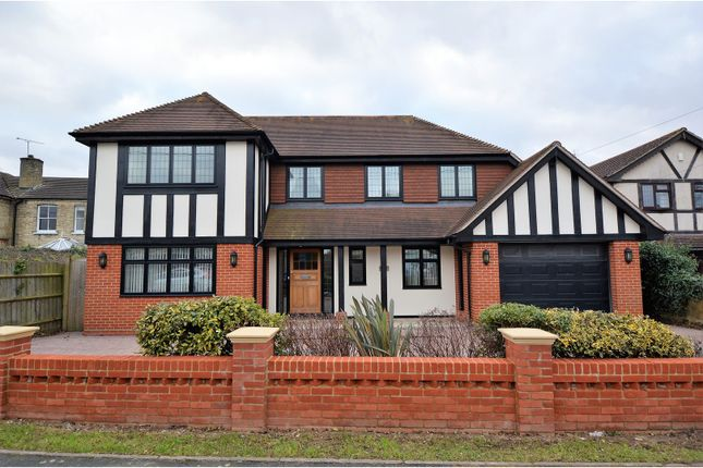 Thumbnail Detached house for sale in Beaufort Road, Billericay