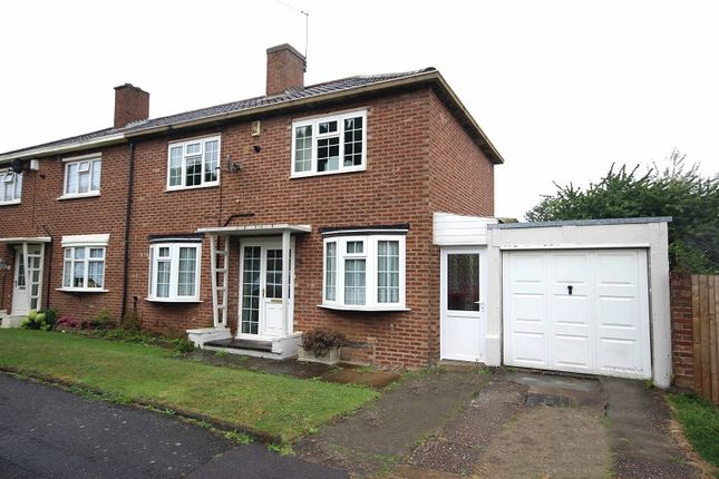 Thumbnail Semi-detached house for sale in Helmdon Road, Northampton, Northamptonshire.