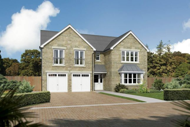 "Thumbnail Detached house for sale in ""Sandholme"" at Main Street, Symington, Kilmarnock"