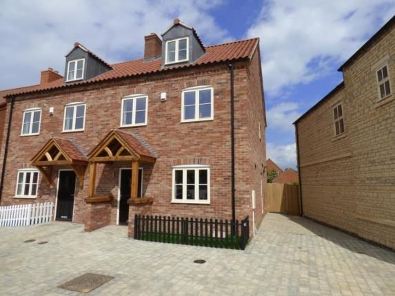 Thumbnail Semi-detached house for sale in St Johns Village, Medland Drive, Bracebridge Heath, Lincoln