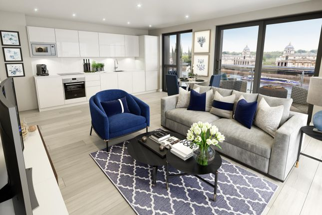 Thumbnail Flat for sale in Calders Wharf, London