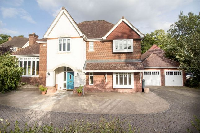 Thumbnail Detached house for sale in Ibworth Lane, Fleet