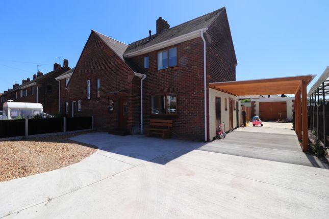 3 bed semi-detached house for sale in Edward Road, Carcroft, Doncaster DN6