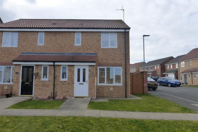 Thumbnail Semi-detached house to rent in Evergreen Close, Hartlepool
