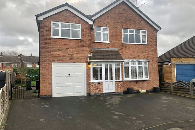 Thumbnail Detached house for sale in Windermere Road, Wigston