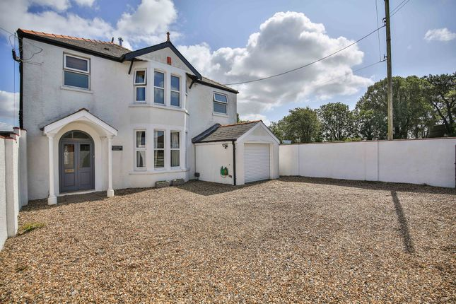 Thumbnail 4 bed detached house for sale in Merthyr Dyfan Road, Barry