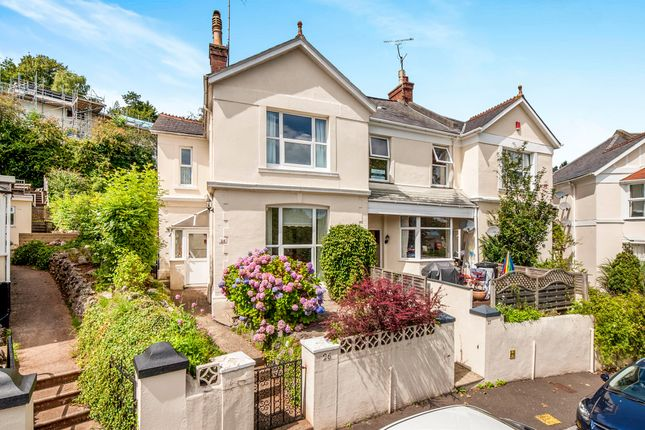 Thumbnail End terrace house for sale in Crownhill Park, Torquay