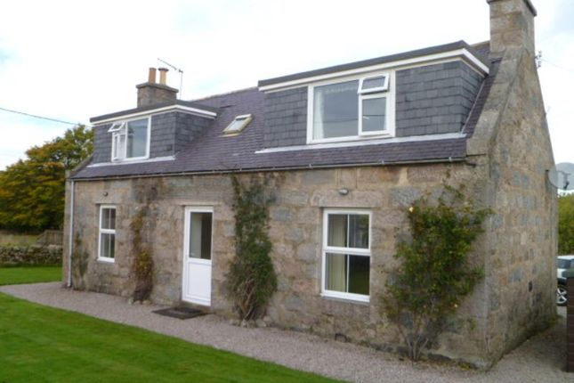 Thumbnail Detached house to rent in Sauchen, Inverurie