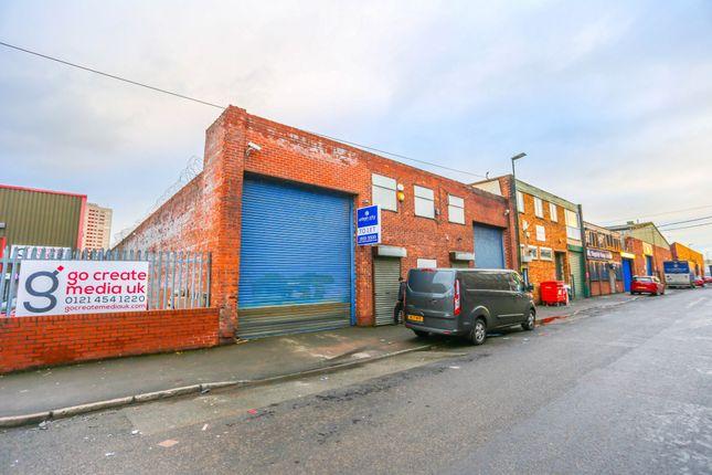 Thumbnail Commercial property to let in Eyre Street Birmingham, Birminingham