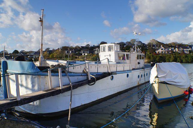 Thumbnail Houseboat for sale in Mylor Creek Boatyard, Mylor Bridge, Falmouth