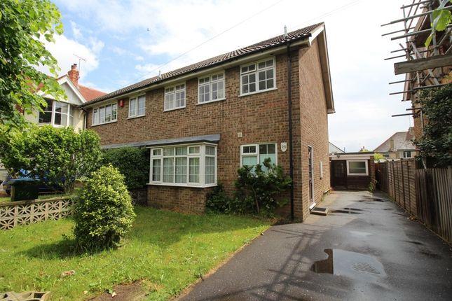 Thumbnail Semi-detached house to rent in Neville Road, Bognor Regis