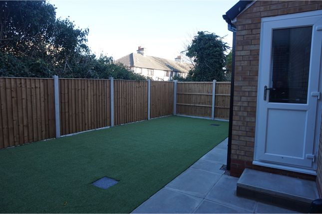 Rear Garden of Curate Road, Liverpool L6