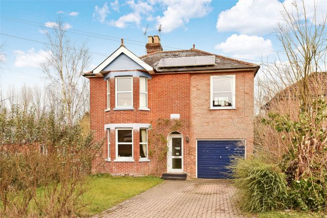 Thumbnail Detached house for sale in Lockerley Green, Romsey, Hampshire