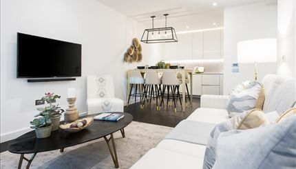 Thumbnail Flat to rent in Thornes House, 4 Charles Clowes Walk, Battersea