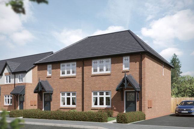 """Thumbnail Semi-detached house for sale in """"Jasmine"""" at Council Houses, Branston Road, Tatenhill, Burton-On-Trent"""
