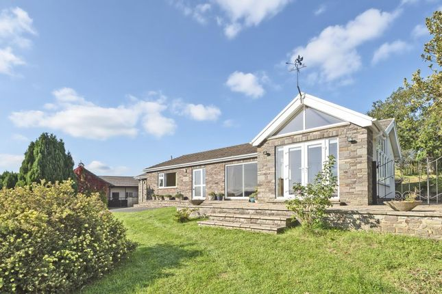 Thumbnail Detached bungalow to rent in Boughrood, Brecon