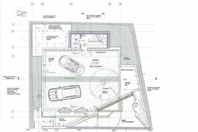 Basement Plan of Polkirt Hill, Mevagissey, St. Austell PL26
