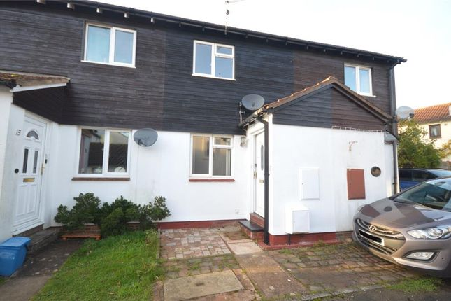 2 bed terraced house to rent in Brent Close, Woodbury, Exeter, Devon EX5