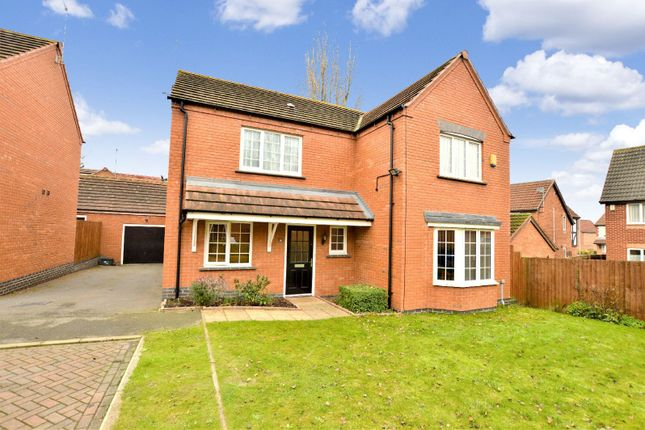 Thumbnail Detached house for sale in Albermarle Close, Humberstone, Leicester